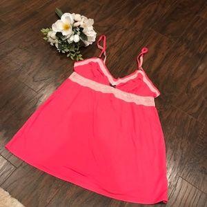 Victoria's Secret pink babydoll nightie lingerie